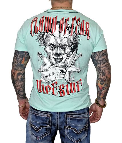 Vipeside T-Shirt Clown of Fear TS-24 mint grün