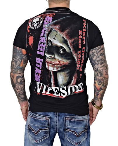 Vipeside T-Shirt Death Tee TS-18 black