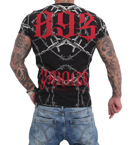 Yakuza Barbwire T-Shirt TSB-16023 black