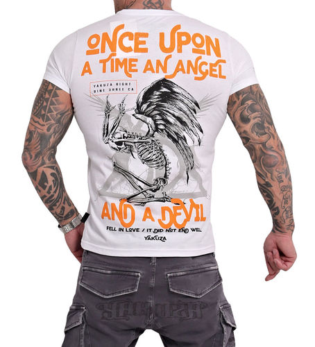 Yakuza Once Upon T-Shirt TSB 16016 weiß