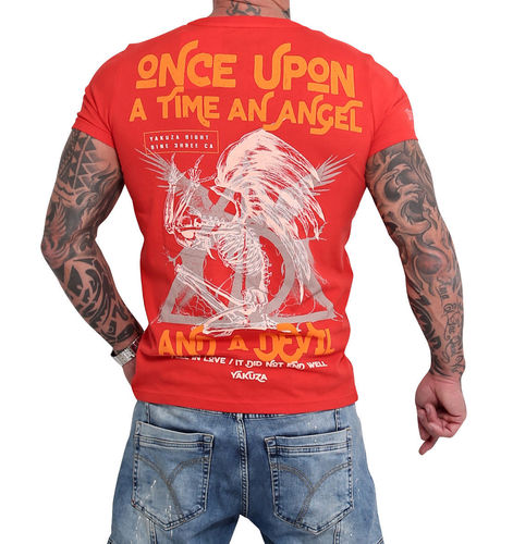 Yakuza Once Upon T-Shirt TSB-16016 red