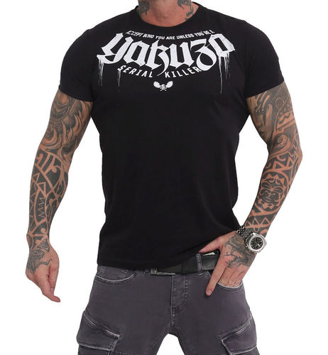 Yakuza Killer T-Shirt TSB-16064 black