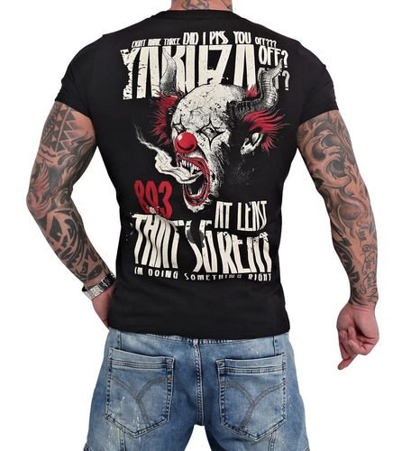 Yakuza Piss Off T-Shirt TSB-16020 black