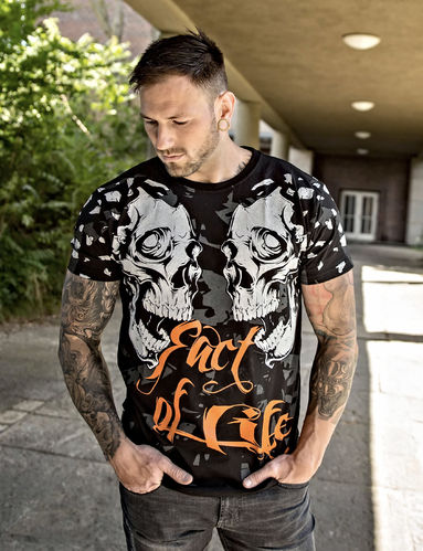 "Fact of Life T-Shirt TS-34 ""Destruction"" schwarz"