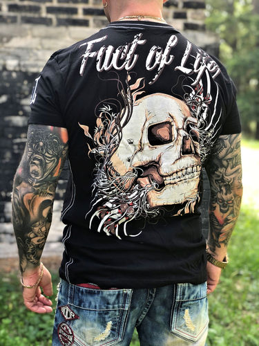 Fact of Life T-Shirt Matter of Honour TS-35 black