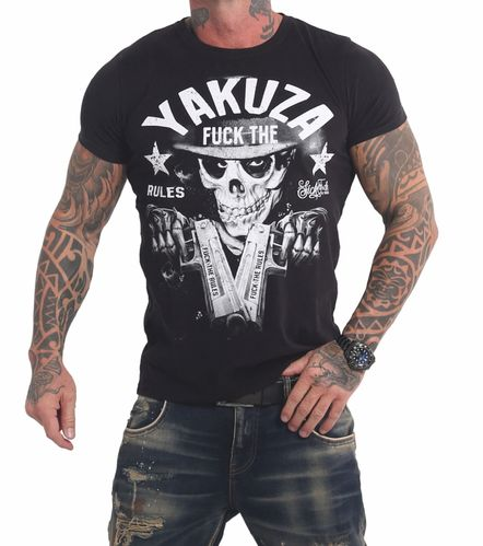 Yakuza Rules T-Shirt TSB-17025 black