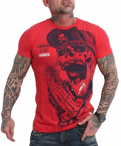 Yakuza Carnal T-Shirt TSB-17036 ribbon red